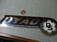 GLOSSY DYAD CHROME  Sticker/Decal  Automotive  ORIGINAL old stock