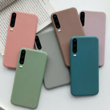 For Huawei P30 P20 Lite P Smart Z 2019 Slim Soft Silicone TPU Frosted Case Cover