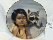 Indian Plate By Gregory Perillo Dark Eyed Friends