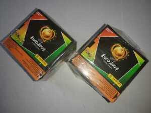 2 Sealed Box Display EURO COPA 2004 PANINI (100 Sobres Nuevos)