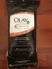 OLAY Regenerist Anti Aging Micro Exfoliating Cleansing Cloths 30