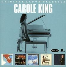 CAROLE KING 5CD NEW Simple Things/Welcome Home/Touch The Sky/Pearls/Love Makes