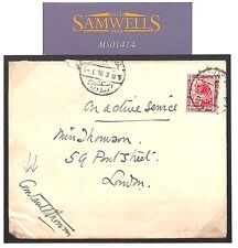 MS1414 1916 EGYPT WW1 SIGNED *(Sir) Courtauld Thomson* Head of BRITISH RED CROSS