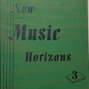 Music Horizons 3 Song Book 1944 Textbook Citizen Patriotic WW2 Home School