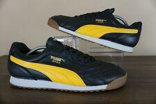Puma Roma Anniversario Black-Spectra Yellow 366673-04 Soccer ShoesUS Size 13