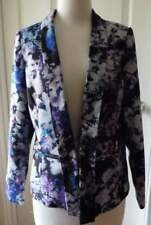 Floral Y-Neckline Casual Coats & Jackets for Women