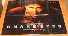 Snake Eyes (1998) Uk Quad poster - Nicolas Cage, Gary Sinise