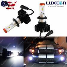 2x HID White 6000K Philips Luxen LED 160W 12000LM H11 H8 H9 Headlight Bulbs Kit