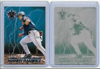 1/1 MANNY RAMIREZ 2000 PACIFIC VANGUARD PRINTING PLATE CLEVELAND INDIANS 1 OF 1