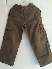 """""""Junior b""""  - Boy's - Khaki/Green Pants/Trousers - Size 7-8"""