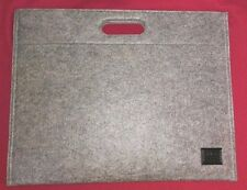 Hugo Boss portadocumenti porta notebook porta Tablet, pochette panno grigio