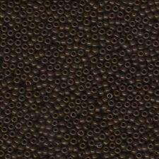 Miyuki Seed Beads 8/0 Opaque Brown 8-409 Glass 22 grams Size 8 Round