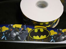 Cake Craft RIBBON Decoration Birthday Decorating- 50mm - BATMAN - 1m