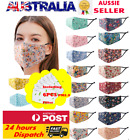 ClassiC Cotton Washable Face Mask Anti Pollution Masks with Free Filters AUSTOCK <br/> 🔥🔥AU-STOCK 🔥1 MASK+6 Free Filters🔥Fast Delivery🔥🔥
