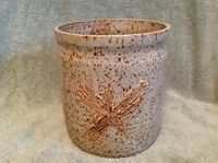 Pottery/Vase/ Utensil Holder Wheat Farm Design