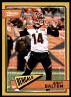 2018 CLASSICS TIMELESS TRIBUTES GOLD ANDY DALTON 44/99 BENGALS #20 PARALLEL