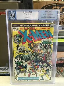 X-Men #96      9.4 Graded   white pages 1st Appearance of Moira MacTaggert!