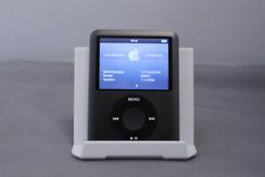 Apple iPod Nano 8GB 3rd Gen Generation BLACK MP3 7L741235YXX