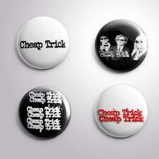 4 Cheap Trick - Pinbacks Badge Button 25mm 1''
