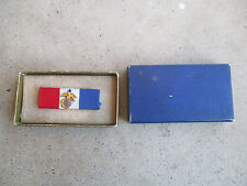 WWII USMC Marine Corps patriotic ribbon medal ? Part ? NOS in box