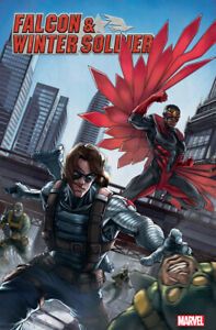 MARVEL COMICS FALCON & WINTER SOLDIER #1 ZIYIAN LIU CHINESE NEW YEAR VARIANT