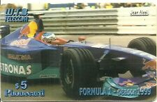 RARE / CARTE TELEPHONIQUE - FORMULE 1 JEAN ALESI PILOTE F1 / TELEPHONE CARD