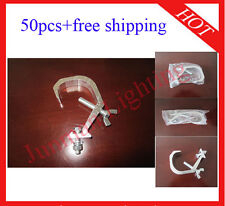 50pcs Light Hook DJ Stage Lighting Hanging Clamp Free Shipping