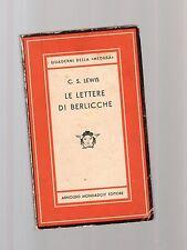 le lettere di berlicche - c.s. lewis - medusa copertina morbida