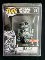 Funko Pop Star Wars ~ Futura R2-D2 + Hard Stack ~ Target Exclusive ~ OOS BNIB