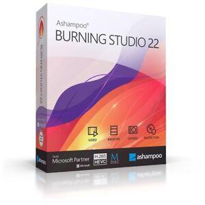 Ashampoo Burning Studio 22 - Diashow - Brennprogramm für CD, DVD, Blu-Ray - H265