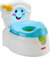 Fisher-Price Learn-to-Flush Potty Child Toddler Toilet Training Baby Lights Musi