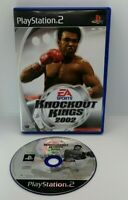 Knockout Kings 2002 Video Game for Sony PlayStation 2 PS2 PAL TESTED