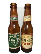 Vintage Neuweiler Cream Ale 1947 Ball Bottle & Neuweiler Brewed Stout Bottle
