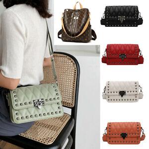 Damen Umhängetasche Designer Handtasche Schultertasche Leder Crossbody Taschen