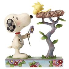 Jim Shore PEANUTS Figurine Snoopy & Woodstock Nest Warming Gifts Ornament
