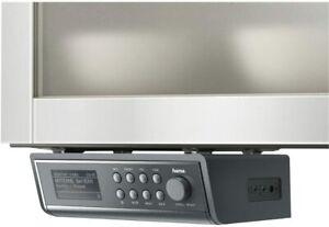 Hama IR320 Internetradio Küchenradio grau Unterbauradio Spotify Streaming WLAN