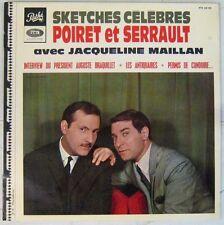 Jean Poiret Michel Serrault Jacqueline Mailian 33 tours Sketches célèbres