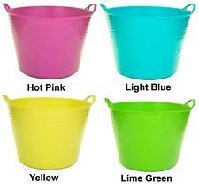 Plastic 27Lt Flexi Flexible Garden Tub Bucket