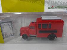 Herpa 745024 Mercedes Benz Koffer LKW Dachbeladung Feuerwehr Military 1:87 Neu