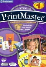 Printmaster Platinum 18 your ultimate desktop publishing creative studio New DVD