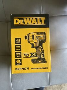 Dewalt Impact Driver 18v DCF787B Skin Only Brand New Received As Part Of Promo
