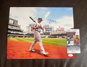 Yadier Molina Signed Autographed 11x14 Photo + JSA Coa St. Louis Cardinals