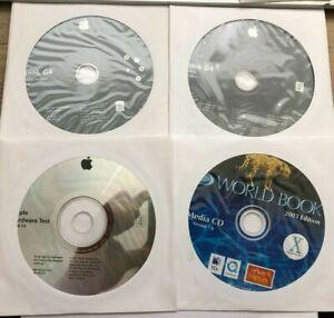 Apple iBook G4 Disk Set - Software Restore, Install Disk, Hardware Test