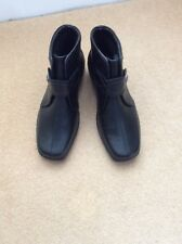 BN LADIES BLACK HOTTER ANKLE BOOTS SIZE 6+