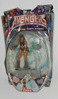 TIGRA - The Avengers Marvel Comics Heroe CAT CLAWING POUNCING Action Figure Toy