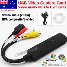 OZ Capture Card Video USB 2.0 VHS to DVD Adapter Converter EasyCap PC PS3 XBOX