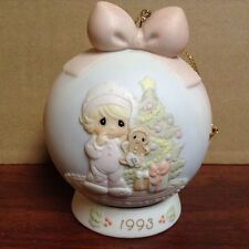 $ Precious Moments Wishing You The Sweetest Christmas Ornament Christmas