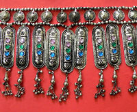 NW Ethnic Fusion Jewelry Kuchi Belt Belly Dance Tribal Gothic Goth Hippie AFGHAN