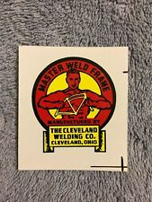 VINTAGE 1950'S CIRCA CWC ROADMASTER AND OTHER BICYCLE WATER TRANSFER DECAL