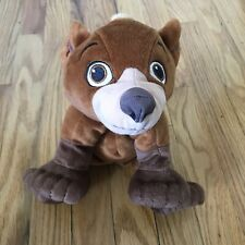 "Koda Disney Brother Bear Plush Doll Stuffed Animal 6"" Lovey 2003 Hasbro"